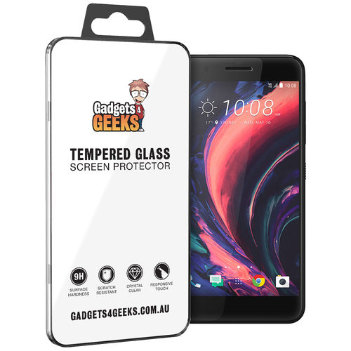 9H Tempered Glass Screen Protector for HTC One X10