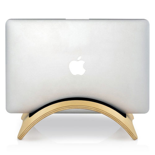 Samdi Archy Bridge Wooden Desktop Stand Holder for MacBook / iPad / Tablet