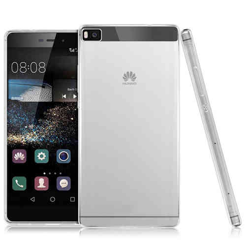 Flexi Slim Gel Case for Huawei P8 - Clear (Gloss Grip)