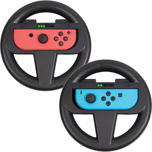 Orzly (2-Pack) Racing Steering Wheel Game Controller for Nintendo Switch