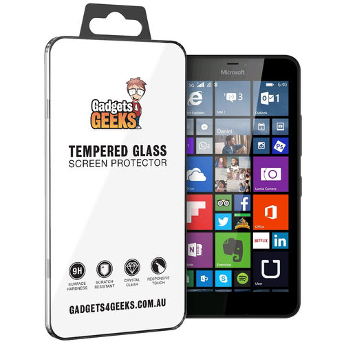9H Tempered Glass Screen Protector for Microsoft Lumia 640 XL
