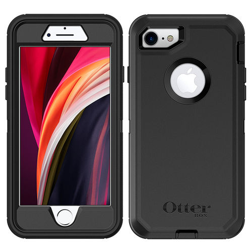 OtterBox Defender Shockproof Case for Apple iPhone 8 / 7 / SE (2nd Gen) - Black