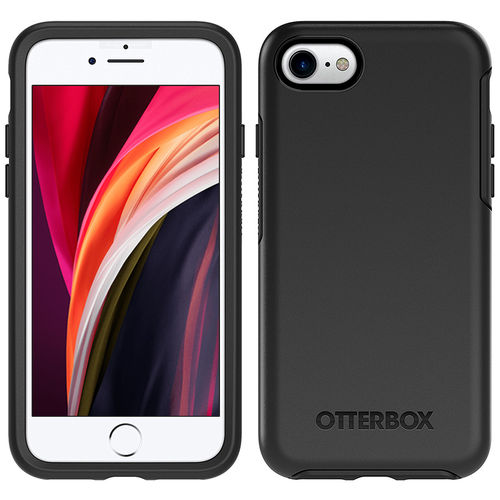 OtterBox Symmetry Shockproof Case for Apple iPhone 8 / 7 / SE (2nd Gen) - Black