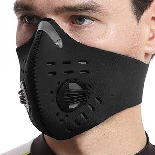 Outdoor Half Face Mesh Allergy Dustproof Mask for Motor Bike / Cycling