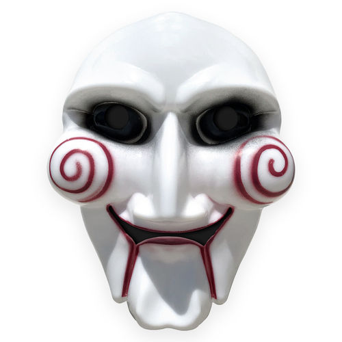 Novelty Scary Jigsaw Clown Mask for Halloween Costume Party