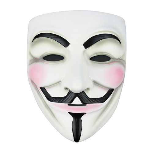 Novelty V for Vendetta Anonymous Mask for Halloween Costume Party