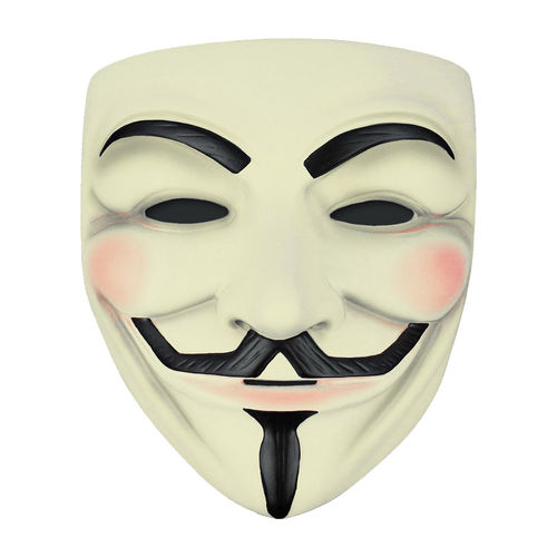 V for Vendetta / Guy Fawkes Mask / Halloween Novelty Costume