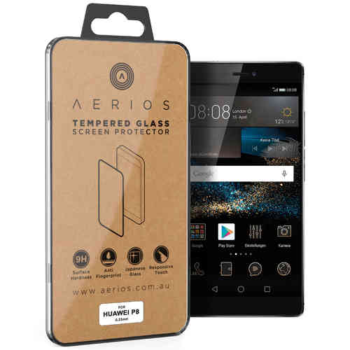 Aerios 9H Tempered Glass Screen Protector for Huawei P8