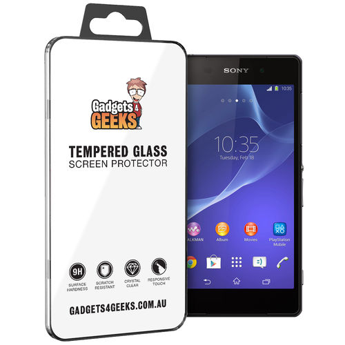 9H Tempered Glass Screen Protector for Sony Xperia Z2