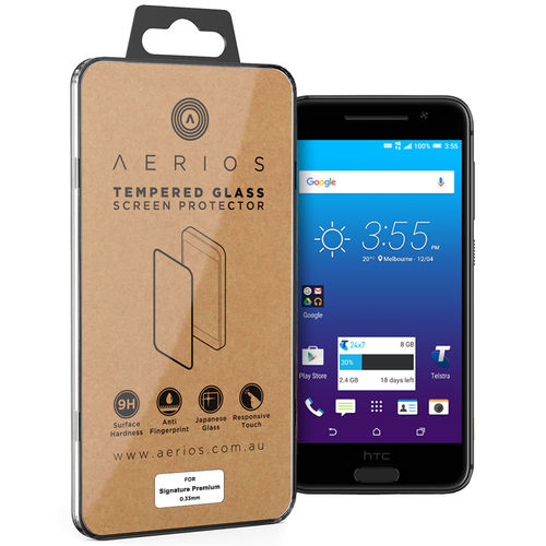 Tempered Glass Screen Protector - Telstra Signature Premium / HTC One A9