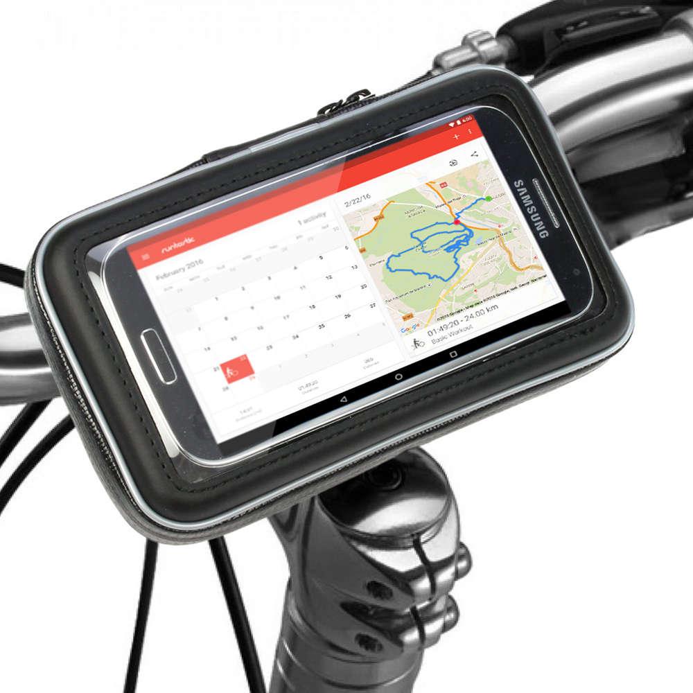 Bike Bicycle Handlebar Mount Waterproof Holder For Cell Phone Holder C