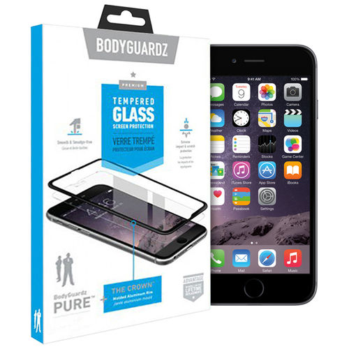 BodyGuardz Pure Tempered Glass Screen Protector for Apple iPhone 6s Plus