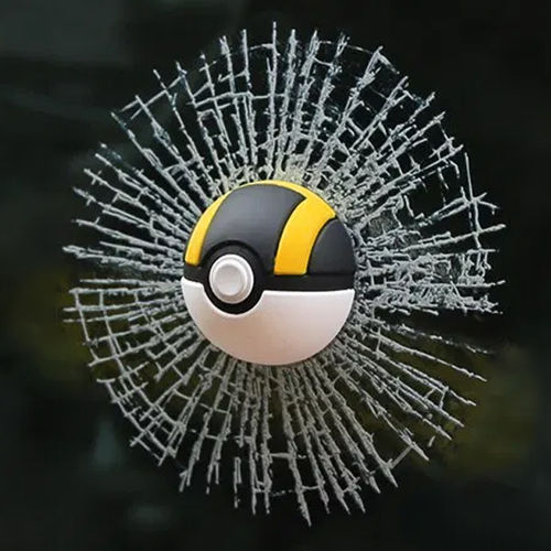Pokemon Go 3D Poke Ball Car Window Decal Sticker Decoration