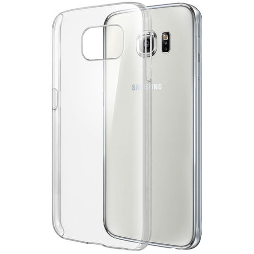 Orzly Invisi Crystal Hard Case for Samsung Galaxy S6 - Clear (Gloss)