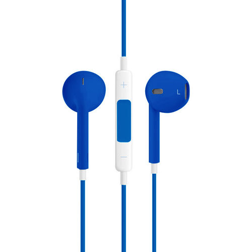 Stereo EarPods with Remote & Microphone (Headphones) - Blue