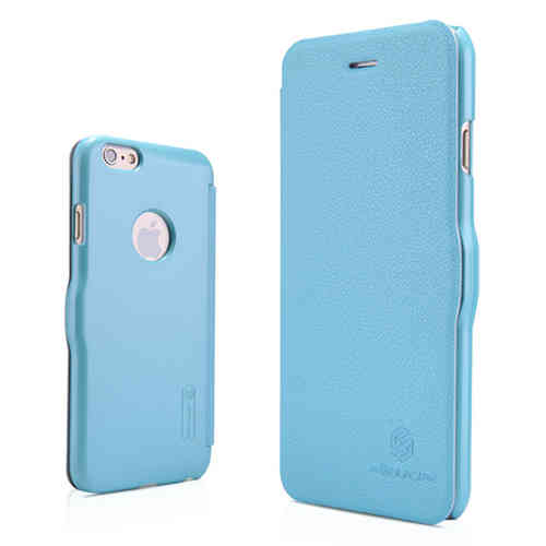 Nillkin Fresh Leather Flip Case for Apple iPhone 6 / 6s - Blue