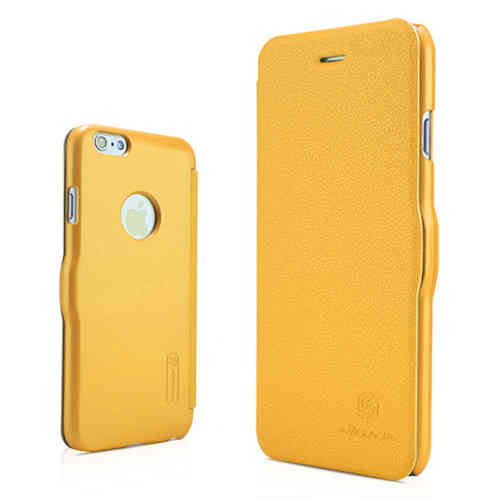 Nillkin Fresh Leather Flip Case for Apple iPhone 6 / 6s - Yellow