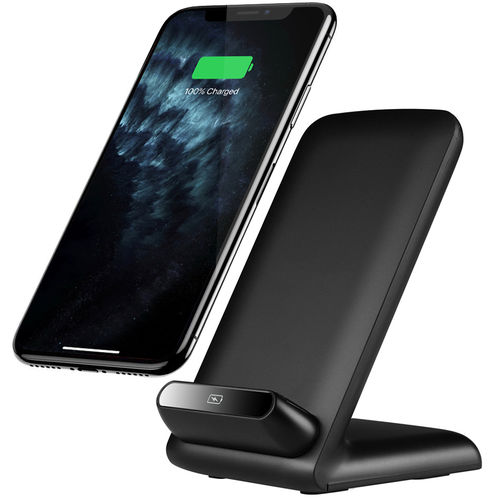 Qi Certified (10W) Fast Wireless Charger / Desktop Stand for Phone