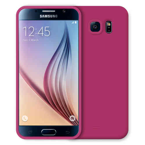 Flexi Candy Crush Case for Samsung Galaxy S6 - Pink (Matte)