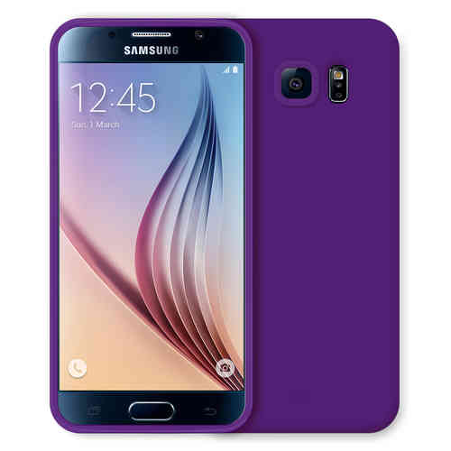 Flexi Candy Crush Case for Samsung Galaxy S6 - Purple (Matte)