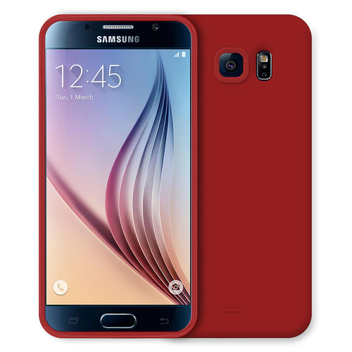 Flexi Candy Crush Case for Samsung Galaxy S6 - Red (Matte)
