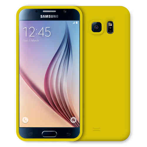 Flexi Candy Crush Case for Samsung Galaxy S6 - Yellow (Matte)