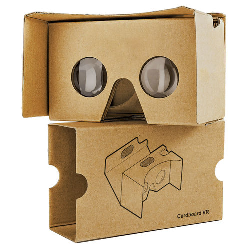 Google HD Cardboard 2.0 (3rd Gen) Virtual Reality Headset for Mobile Phone