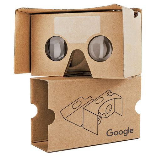 Google HD Cardboard 2.0 (3rd Gen) Virtual Reality Headset for Phones