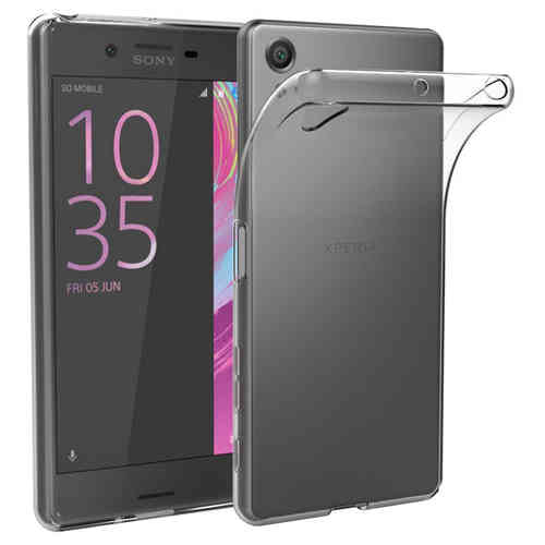 Flexi Slim Gel Case for Sony Xperia X Performance - Clear (Gloss Grip)