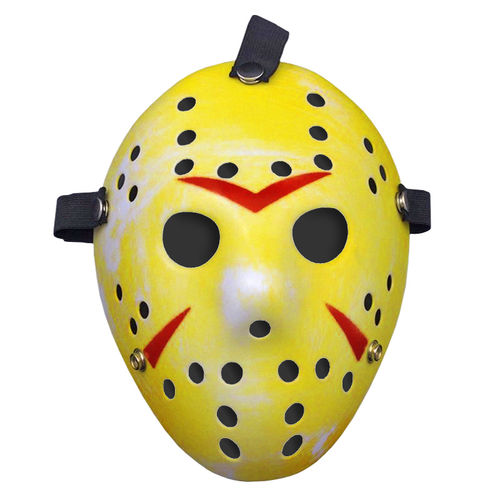 Jason Voorhees Hockey Mask for Halloween Costume Party