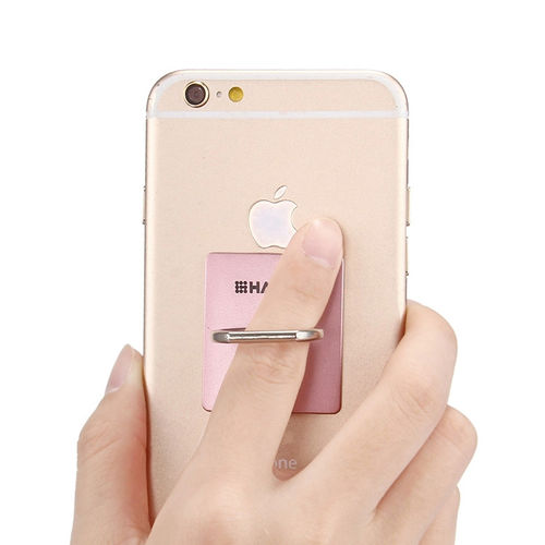 (2-Pack) Haweel 360 Finger Ring Holder & Stand for Phone / Tablet - Pink
