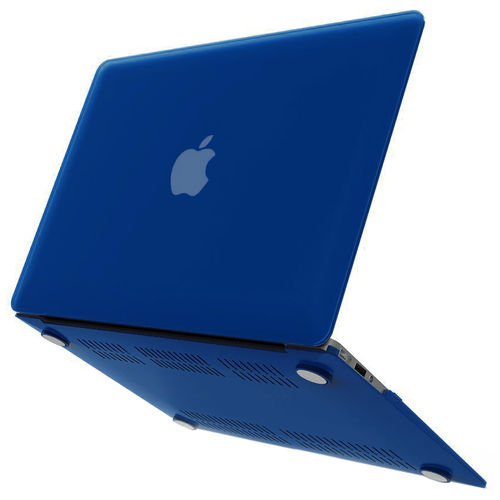 Frosted Hard Shell Case for Apple MacBook Air (13-inch) - Dark Blue