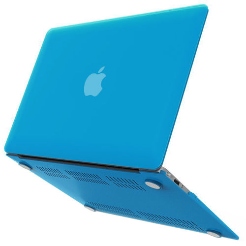 Frosted Hard Shell Case for Apple MacBook Air (13-inch) - Light Blue