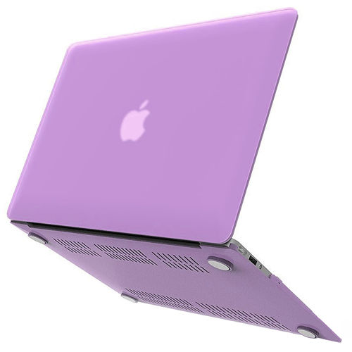 Frosted Hard Shell Case for Apple MacBook Air (13-inch) - Purple