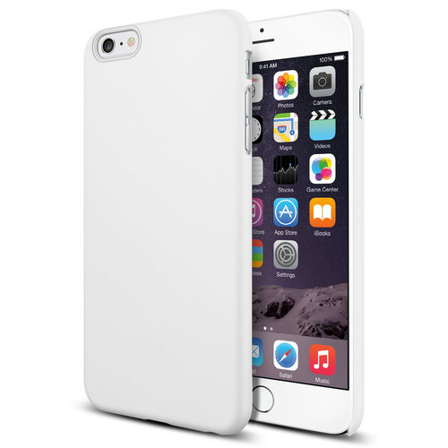PolySnap Hard Shell Case for Apple iPhone 6 Plus / 6s Plus - White
