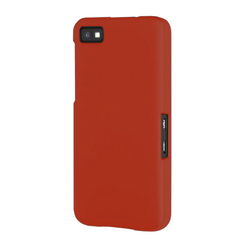 Hard Shell Candy Case for BlackBerry Z10 - Red (Matte)