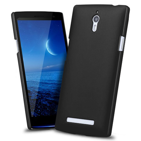 PolyShield Hard Shell Case for Oppo Find 7 / 7a - Black