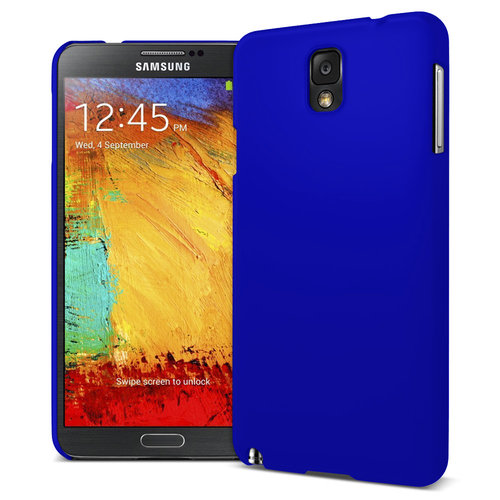 Feather Hard Shell Case for Samsung Galaxy Note 3 - Dark Blue (Matte)