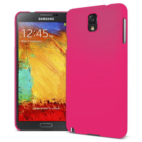Feather Hard Shell Case for Samsung Galaxy Note 3 - Pink (Matte)
