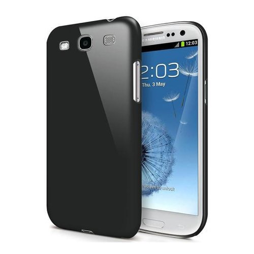 Feather Hard Shell Case for Samsung Galaxy S3 - Black (Matte)
