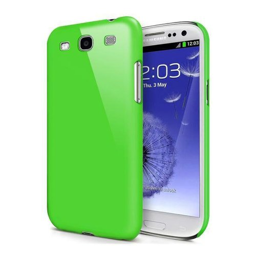 Feather Hard Shell Case for Samsung Galaxy S3 - Green (Matte)