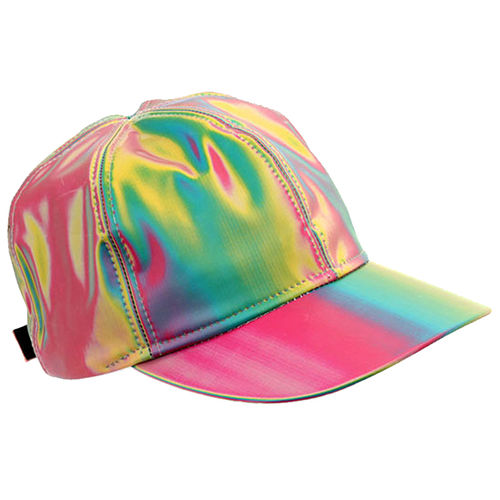 Back to the Future Marty McFly Holographic Hat (Movie Replica Cap)
