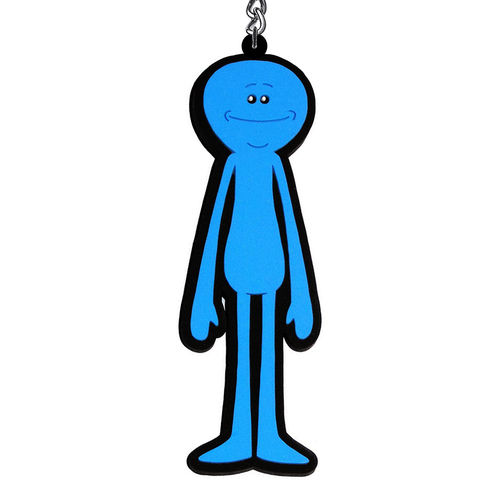 Rick and Morty - Mr Meeseeks Keychain (Keyring)