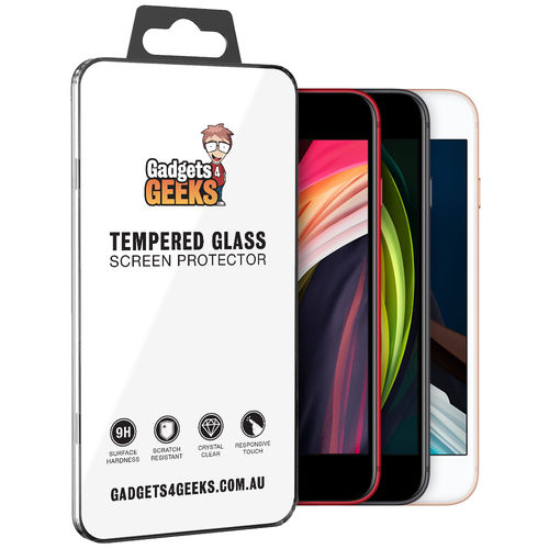 9H Tempered Glass Screen Protector for Apple iPhone 8 / 7 / SE (2nd Gen)