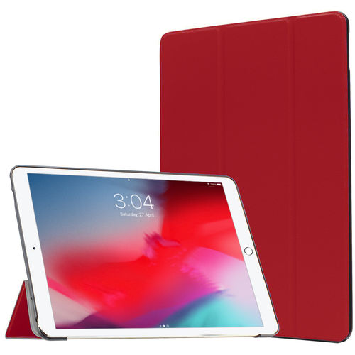 Trifold S/W Smart Case for Apple iPad Air 3 / Pro (10.5-inch) - Red
