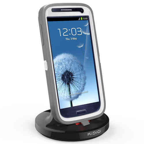 Kidigi 2A Rugged Case Dock & Charger Cradle for Samsung Galaxy S3