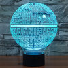 3D Star Wars Death Star LED Desk Lamp Night Light (with Touch Switch)