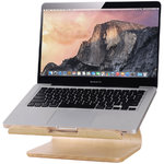 Samdi Large Wooden Desktop Holder Stand for MacBook / Laptop - Birch