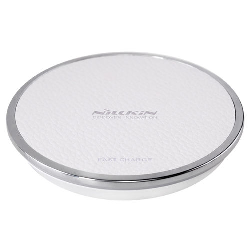10W Nillkin Magic Disk III Qi Fast Wireless Charging Pad - White