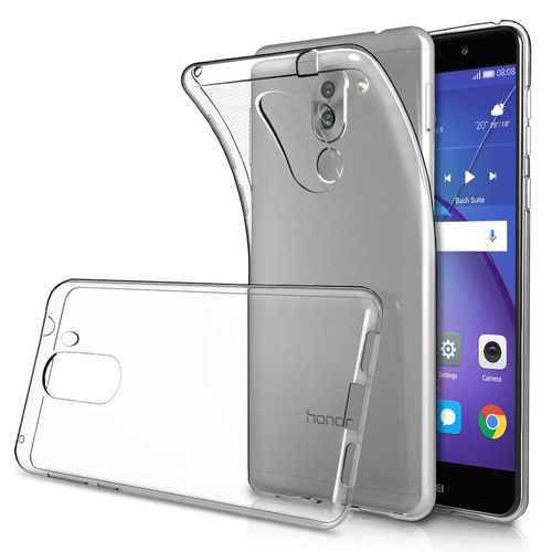 Flexi Slim Gel Case for Huawei GR5 (2017) - Clear (Gloss Grip)